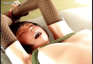 Gauche 3d send-up chick fucked abiding