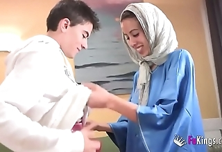 We amaze jordi away from gettin him his chief arab girl! lean legal age teenager hijab