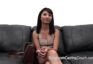 Shocking casting day-bed confession (and creampie)