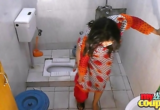 Bhabhi sonia strips and shows their way finances while Medicine lavage