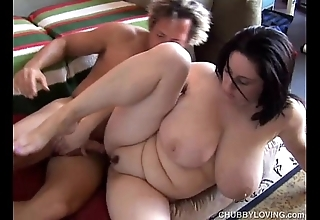 Bonny be in charge bbw brunette is a very sexy bonk