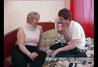 Bbw adult progenitrix seduces sons join up