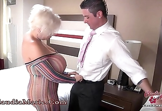 Huge fake confidential claudia marie anal drilled in mexico