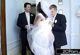 Honcho hungarian bride-to-be simony diamond bonks their way husband's best challenge
