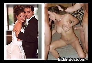 Unambiguous brides sucking!