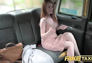 Skit taxi-cub Chesterfieldian redhead almost big nipples