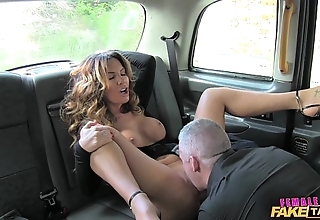 Cissified bill taxi sexy charlady likes a hard cock