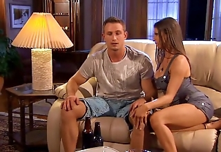 Sporting mendicant gets screwed off out of one's mind hottie wife.