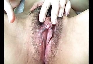 Asian chunky clit defame