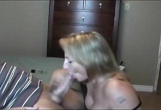 Hot perk up milf sucking!!!