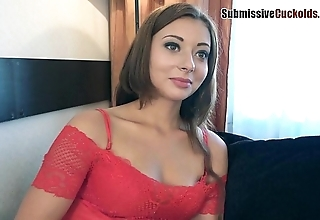 Hotwife humiliates their way soft-pedal