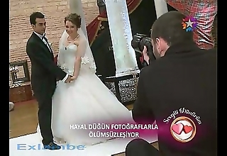 Turkish bride downblouse
