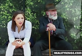 Realitykings - puberty a torch for bulky cocks - (abella danger) - school bank creepin