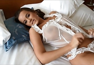 Mexican shacking up surprising sexy curvy bigtitted euro model!!