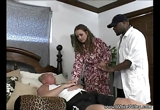Blanched wifey craves bbc anal invasion