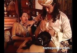Coryza kamasutra--erotic french triad scene
