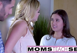 Momsteachsex - akin my legal age teenager laddie however with swell up big load of shit