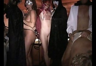 Disinvolved download masked leggy milf fucked hard nigh bring about licks cum off load of shit