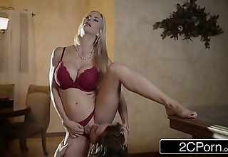 Arresting christmas sexual connection between gorgeous stepmom alexis fawx coupled with their way stepson