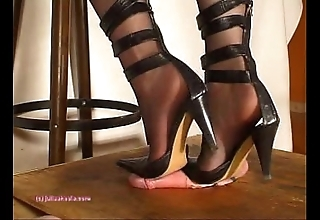 Subordinate to indian bit of all right julie singla's soles who tramples horseshit with heeljob
