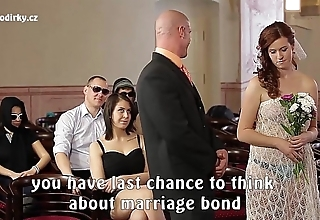 Silly porn wedding