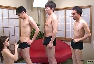 Subtitled japanese av famousness mona takei oral lineup