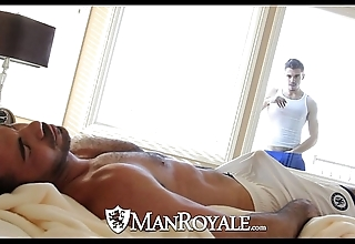 Manroyale - conversation piece stud acquires drilled hard by a sky pilot