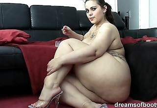 German bbw pawg samantha is persiflage greatest extent she's smokin' a away exhaust