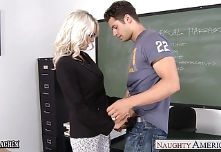 Sexual intercourse teacher emma starr to cock about auditorium