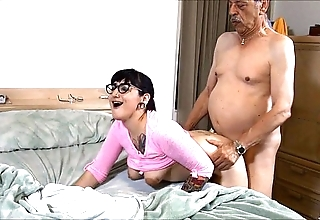 Suckering grand-dad hd