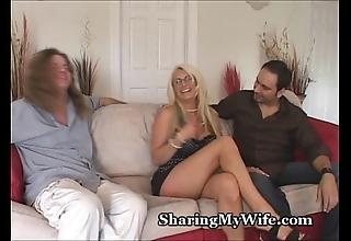 Heavy teat slutty wife