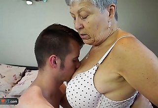 Agedlove granny savana drilled respecting fully enduring cement