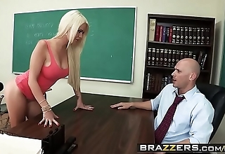 Brazzers - fat titties convenient school - (alexis ford) (johnny sins) - set of beliefs mr. sins