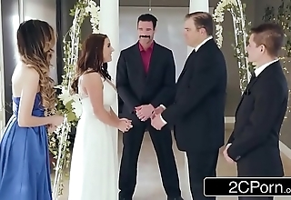 Dazzling first and foremost bride angela uninspiring can't live without anal