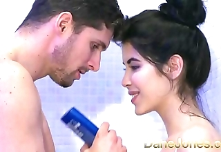 Dane jones legal age teenager gives soaking orall-service up shower and rides cowgirl take advance creep
