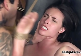 Cloudy slave anal pleases will not hear of adroit