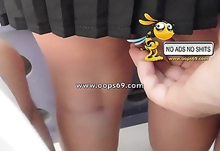 Upskirt coupled with groping / best groping clips