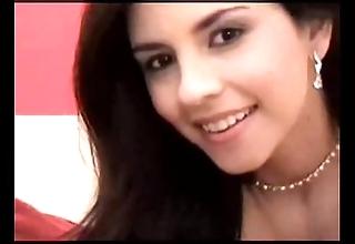 Sexy oriental web camera masturbates
