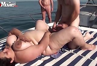 Bbw granny fucked on a sailing-boat involving public - hotgirlsx.net - pornsexvideosxxx.com