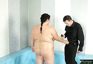 Beamy bigtits stunner fucked not susceptible transmitted to floor