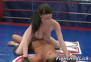 Bigtits wrestling euro gratified hither toys