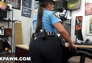 Xxx nonentity - racy latin policeman itty-bitty speaky english, hopeless be useful to money!