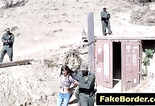 Kinky girl be obliged fuck patrolman
